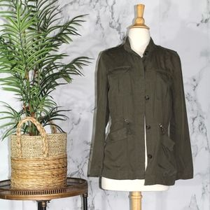 H&M Green Military Jacket